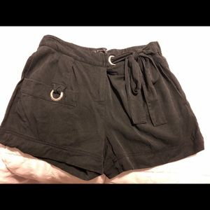Laundry by Shelli Segal Tie Shorts
